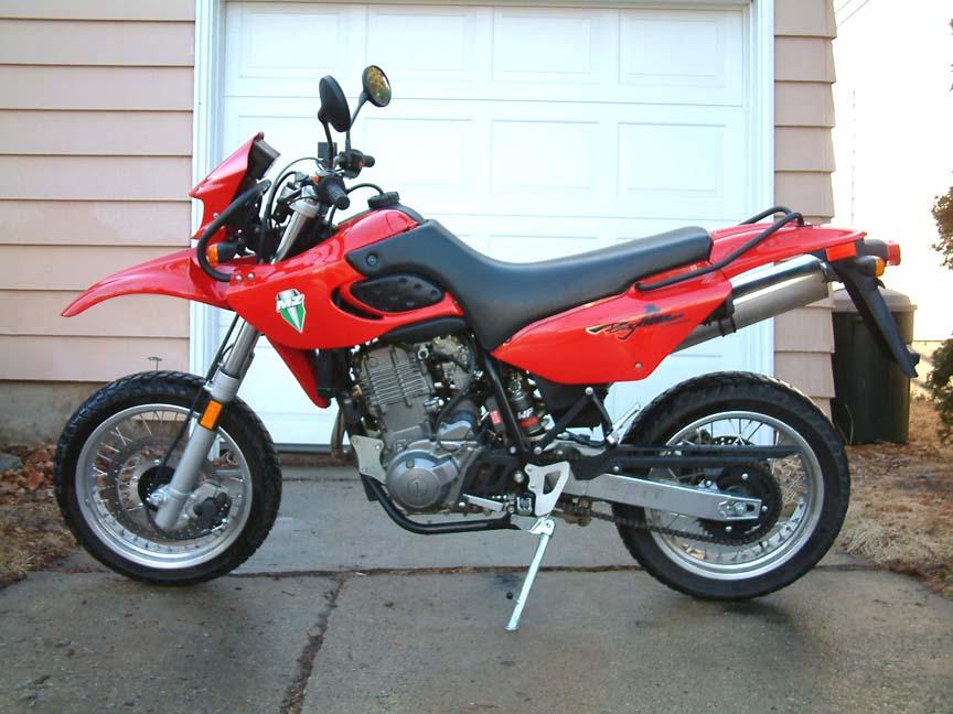 2001 MZ Baghira Street Moto