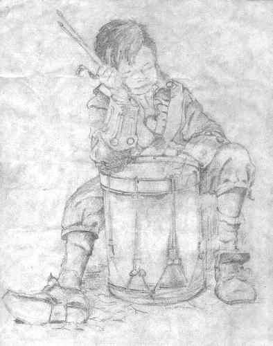 Drummer Boy - sketch