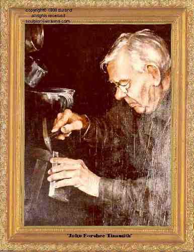 John Forshee - Tinsmith painting