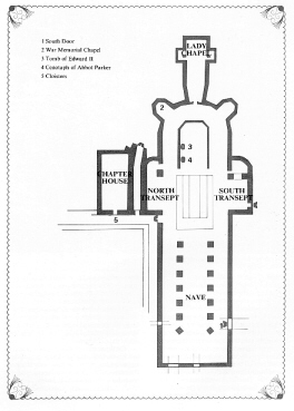 Floor Plan Of An English Gothic Cathedral