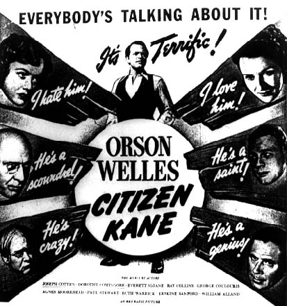 citizen kane innovative techniques essay Free essay on critical analysis of citizen kane by orson welles available totally free at echeatcom, the largest free essay community  innovative movies in .