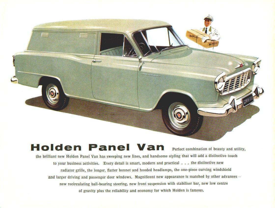 Fe Holden Sales Brochure Passenger